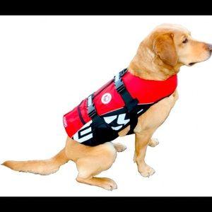 EzyDog Life Vest Jacket Flotation Dog Harness XL
